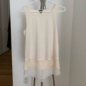 ANN TAYLOR layer tank top